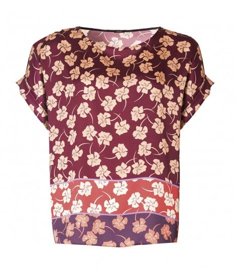BLOUSE SHORT SLEEVE CLOVER