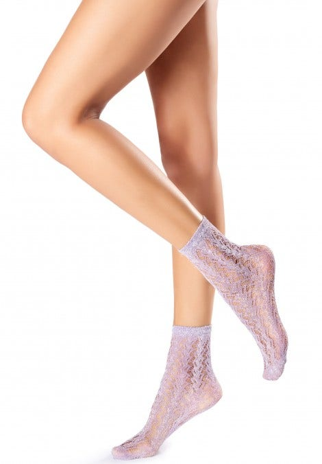 SOCKS FISHNET GLITTER