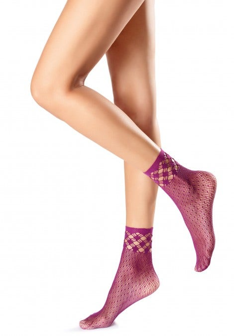 FISHNET - POLKA DOT SOCKS
