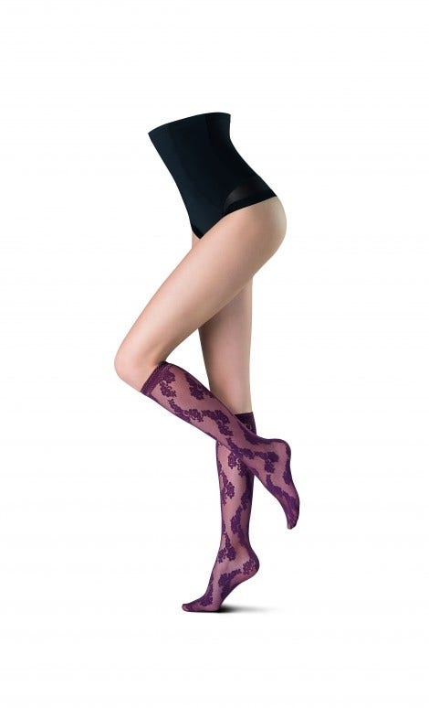 Knee Highs Moonflower