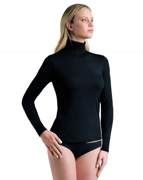 Perfect Line Long Sleeve Turtle Neck